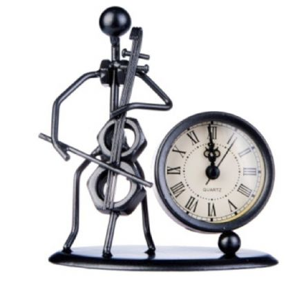 Gewa Cello Sculpture Clock